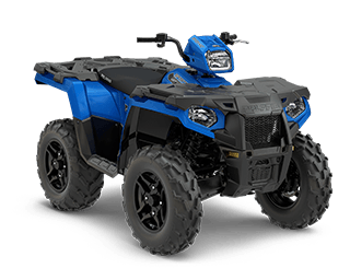 ATVs sold at Blue Ridge Polaris in Wapwallopen, PA.